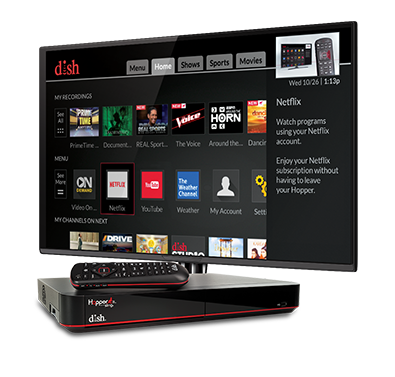 The Hopper - Voice remotes and DVR - Callao, VA - Virginia - Northern Neck Wireless Communications INC - DISH Authorized Retailer